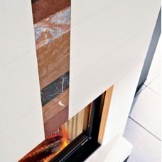 Вертикальная вставка для Dromond под Cristal 76 и Darwin под Tekno 1 (EdilKamin)